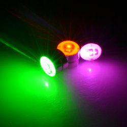 2PCS Zircon Magnet Luminous Earring For men And Women With Glittery Earrings -
