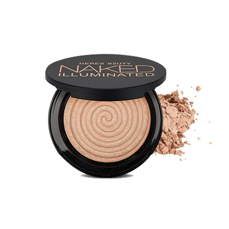 Shops HERES B2UTY Makeup Face Matte Bronze Trimming Highlighter Powder Illuminated Soft Mineral Long Lasting V Shape