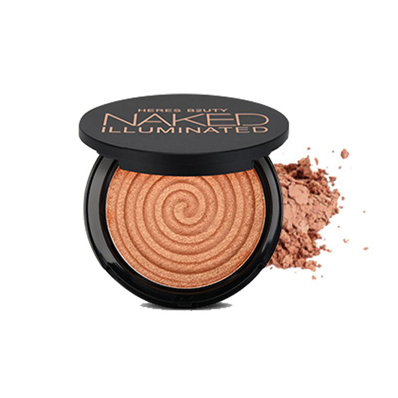 Online HERES B2UTY Makeup Face Matte Bronze Trimming Highlighter Powder Illuminated Soft Mineral Long Lasting V Shape