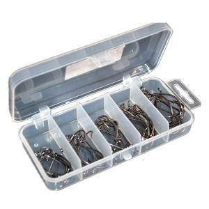 50PCS High Carbon Steel Different Size Saltwater Freshwater Fishing Hooks -