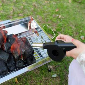 Manual Blower Portable Convenient Durable Outdoor Barbecue Tool -