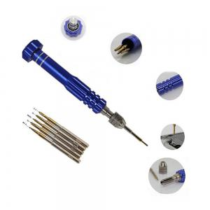 5 in 1 Precision Torx Screwdriver Cellphone Watch Repair Mixed Magnet Set Tool Kit New -
