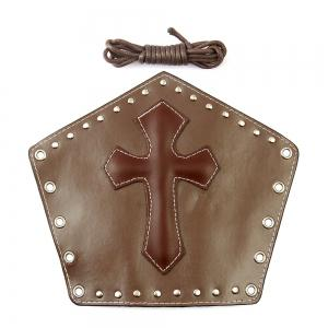 Fashion Jewelry Cowhide Cross Rivet Bracelets -