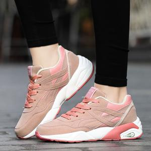 2018 Fashion Pig Leather Femmes Chaussures de sport -