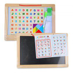 English Alphabet Wood Puzzle Writing Board -