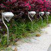 Outdoor LED Solar Powered Garden Path Stake Lanterns Lamps LED Diamonds Lawn Light -