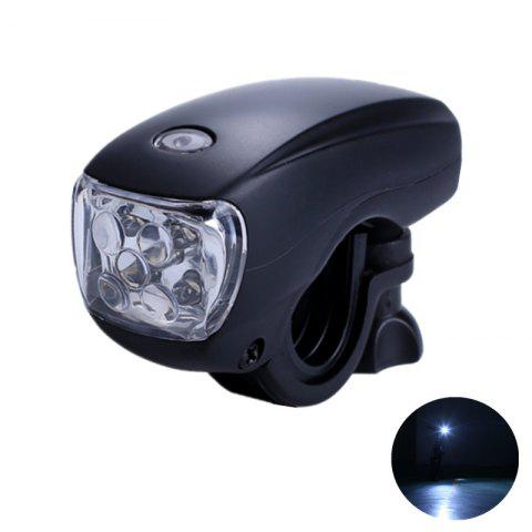 LEADBIKE Bicycle Front Light 5 LED Super Bright Headlight Водонепроницаемый велосипед Safety Warning Lamp Night Riding Accessories
