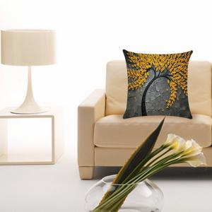 New Three-dimensional Oil Painting Linen  Pillow Covers -