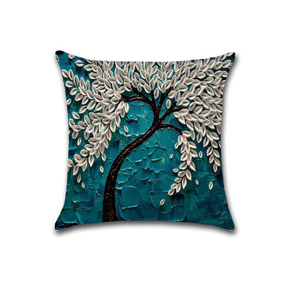Sale New Three-dimensional Oil Painting Linen  Pillow Covers