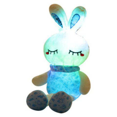 New Glowing Long Legs Rabbit Plush Toy Inductive Luminous with LED Lights Doll for Kids