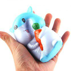 Latest Jumbo Squishy Slow Rising Stress Relief Toy Made By Enviromental PU Replica Cartoon Hamster -