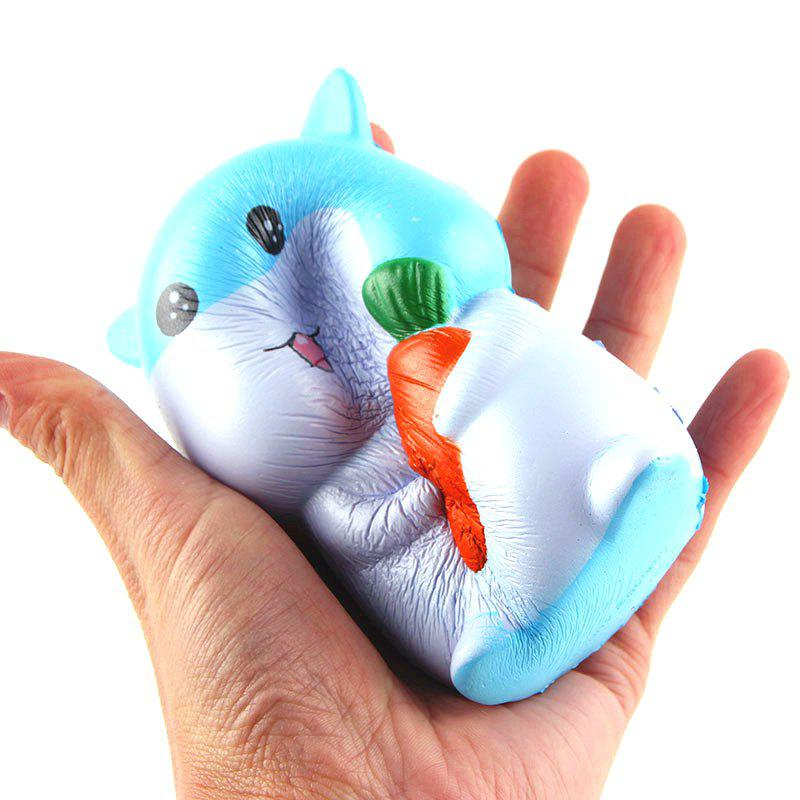 Chic Latest Jumbo Squishy Slow Rising Stress Relief Toy Made By Enviromental PU Replica Cartoon Hamster