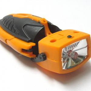 Multi-Functional Mini Folding Deformation Robot Flashlight -