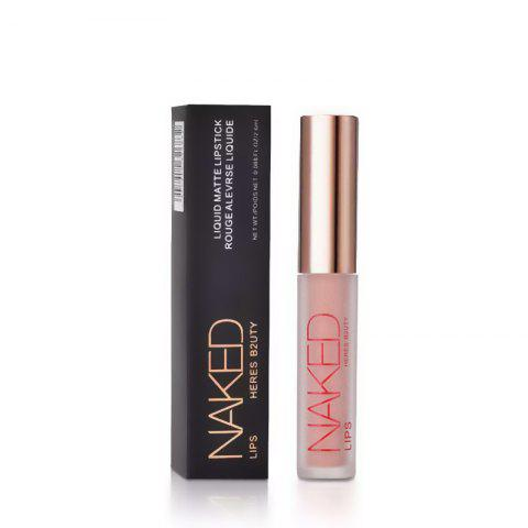 Online HERES B2UTY Non-stickup Matte Lip Gloss Creamy Nutritious Hydrating Easy to Wear Long Lasting 12 Colors