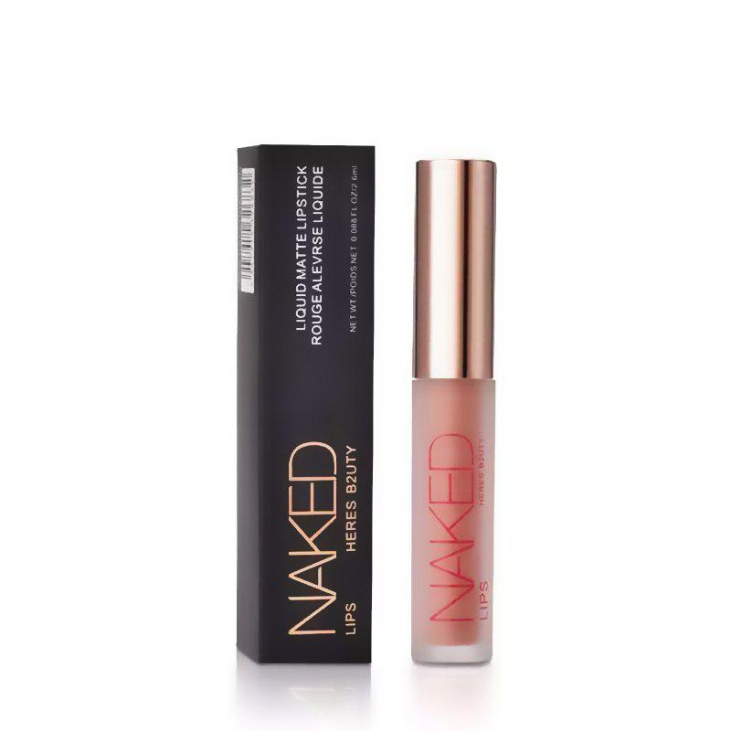 New HERES B2UTY Non-stickup Matte Lip Gloss Creamy Nutritious Hydrating Easy to Wear Long Lasting 12 Colors