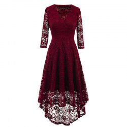 Women's Fashion Vintage Tunic Elegant Evening Party Dress -