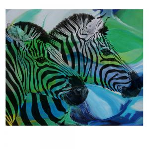 Print Painting Modern Decorative Color Zebra Home Wall Art -