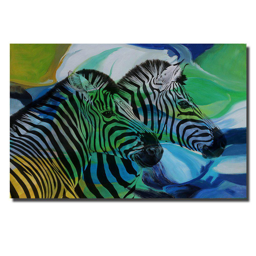 Buy Print Painting Modern Decorative Color Zebra Home Wall Art