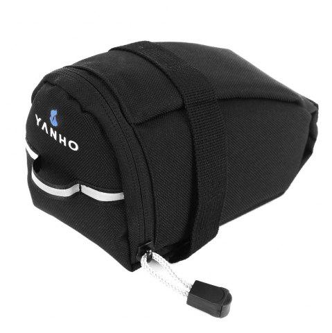 Outfit YANHO YA099 Water Resistant Bicycle Saddle Bag  -  BLACK