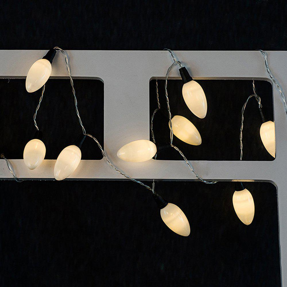 Best White candle String Lights LED Home Decor Light Home Garden Battery Powered 1.65M 10 LED