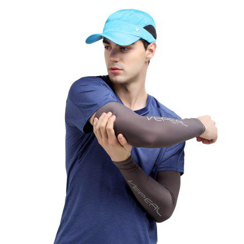 Trendy Vepeal Paired Breathable Icy Cold Quick Drying Sunscreen  Outdoor Sport Arm Sleeve Pad
