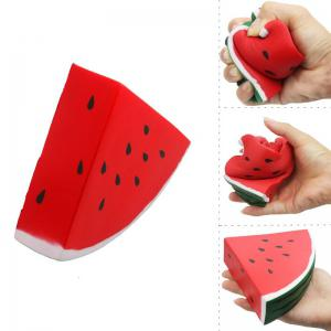 Jumbo Squishy Fruits Watermelon Scented Vent Charms Kid Toy Hand Pillow Toy -