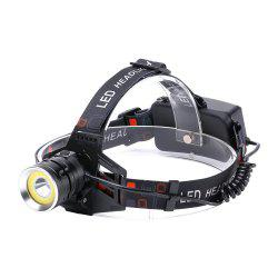 U'King ZQ - X855 XML - T6 2000LM 4 Mode Light-weight Multifunction High Brightness Headlamp with Circle COB LED -