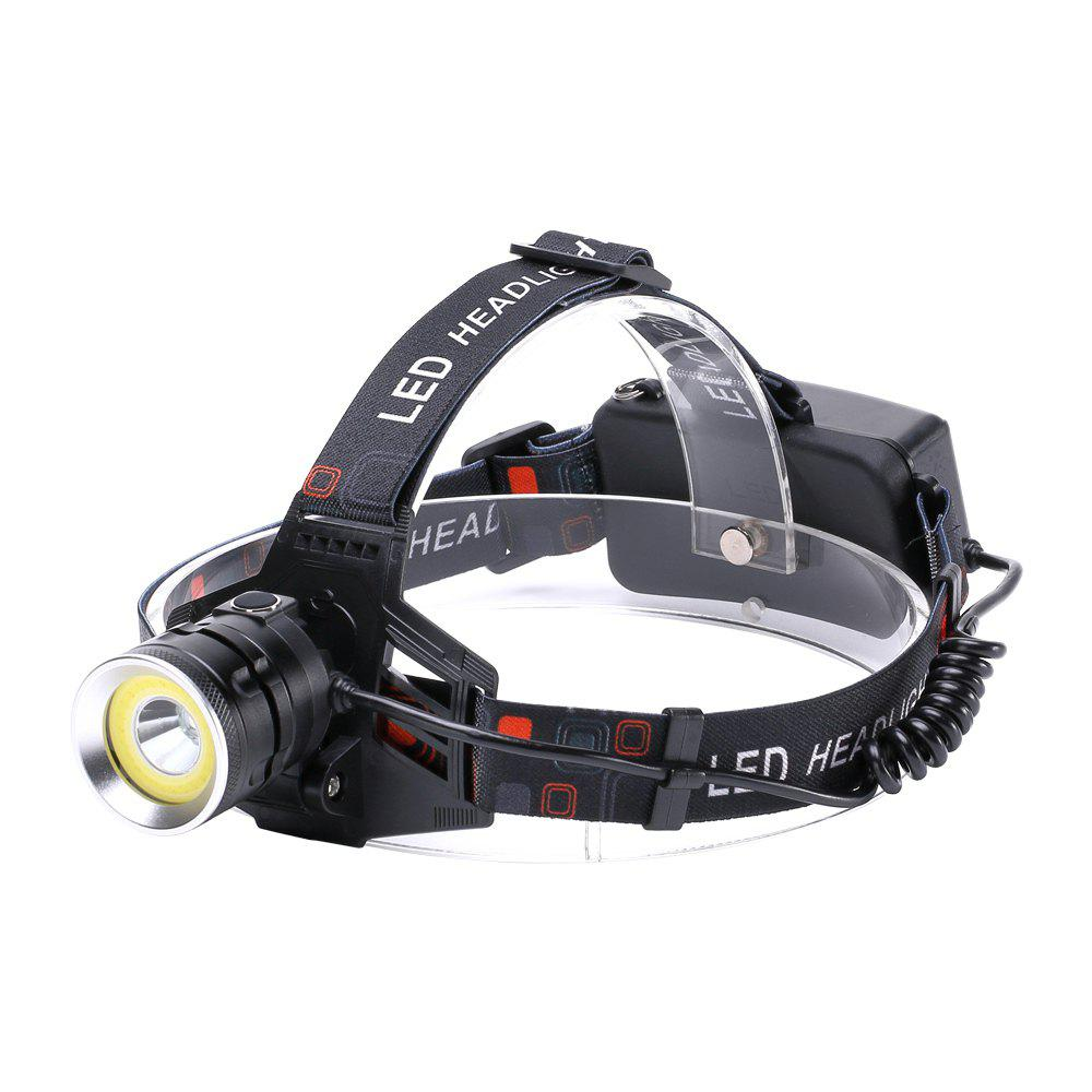 New U'King ZQ - X855 XML - T6 2000LM 4 Mode Light-weight Multifunction High Brightness Headlamp with Circle COB LED