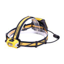 U'King ZQ-X854 1200LM XM-L2 Rotate Switch Headlamp Bike Light Waterproof for Fishing Hunting Outdoor -