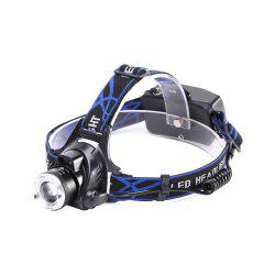 U'King ZQ-X864 XML- 1200LM 3 Mode Zoomable Multifunciton LED Headlamp with Smart Infrared Sensor Switch -