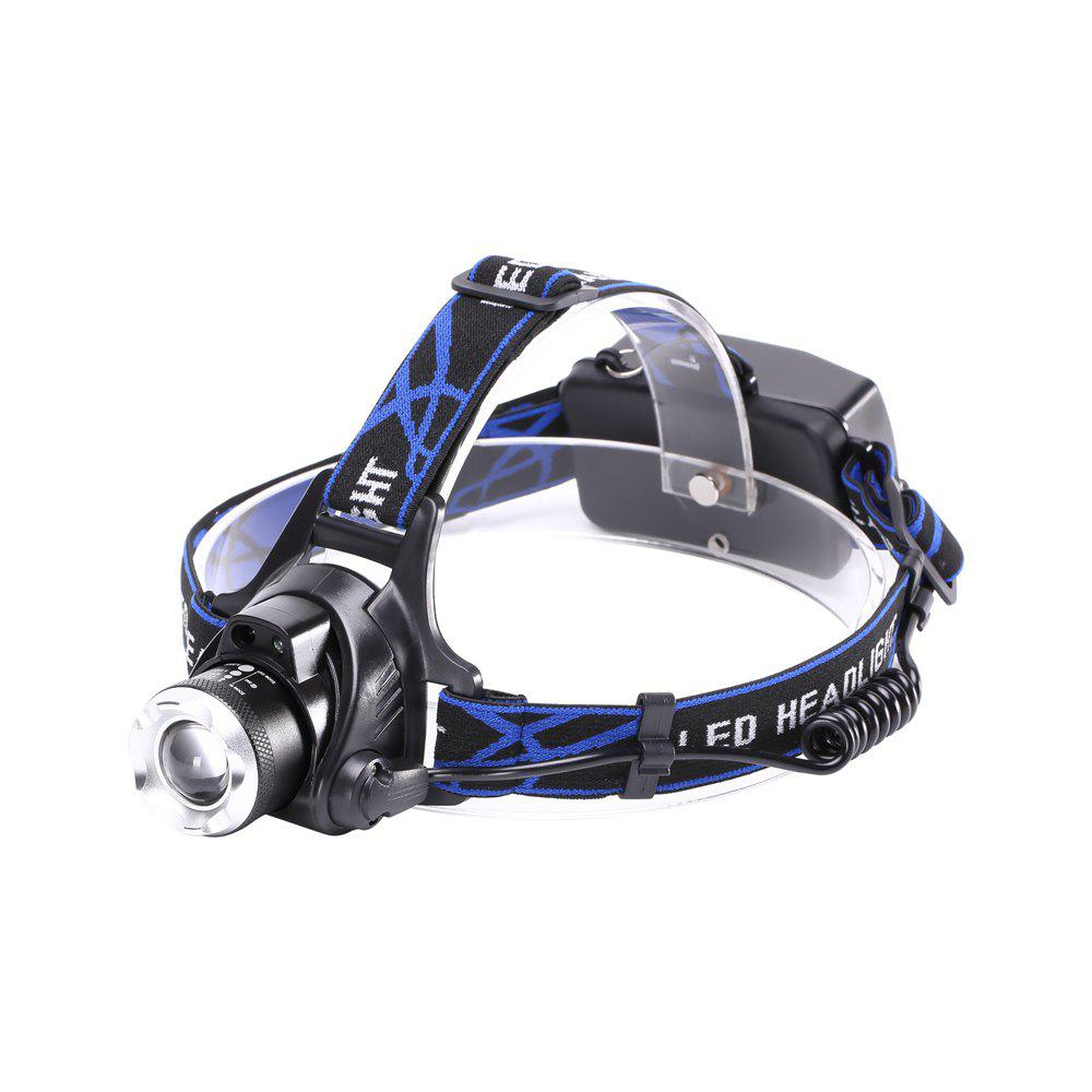 Fancy U'King ZQ-X864 XML- 1200LM 3 Mode Zoomable Multifunciton LED Headlamp with Smart Infrared Sensor Switch