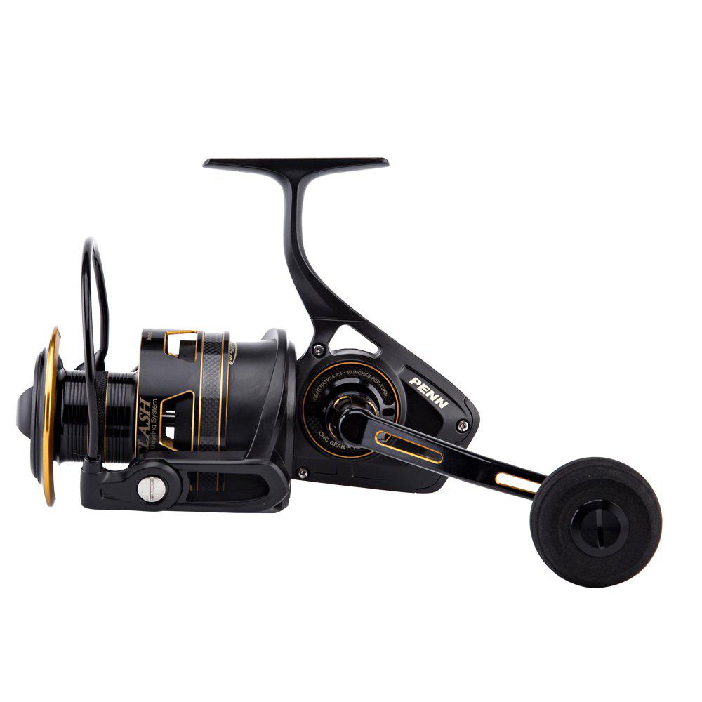 PENN CLASH High Value 8 + 1Ball Bearing Carbon Fiber Max Drag Spinning Fishing Reel