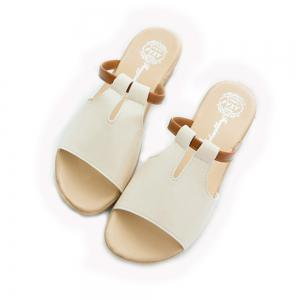 Women Summer Non-slip Slippers Casual PU Sandals -
