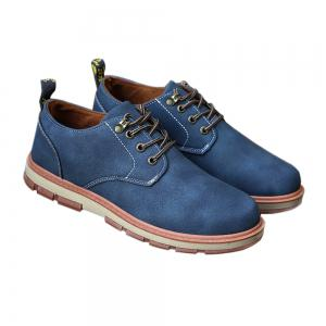 Men Business Casual Fashion Leather Workers Shoes -