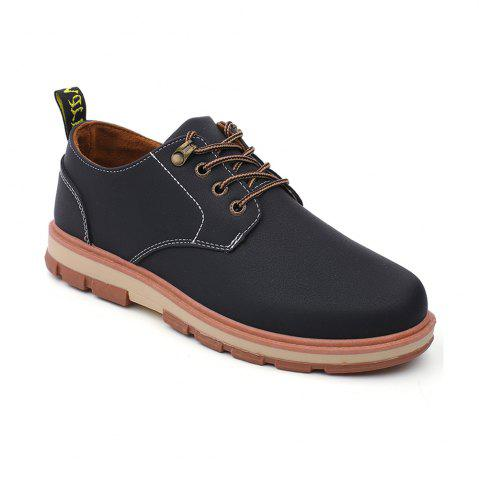 Chic Men Business Casual Fashion Leather Workers Shoes