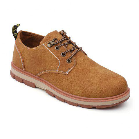 Unique Men Business Casual Fashion Leather Workers Shoes