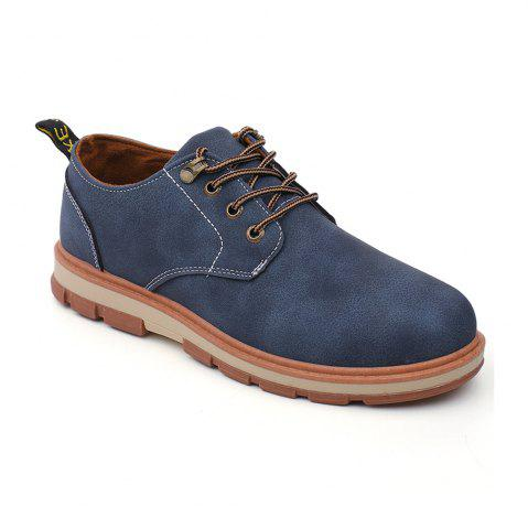 Fancy Men Business Casual Fashion Leather Workers Shoes