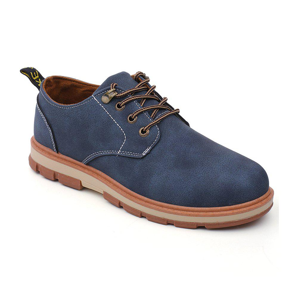 Buy Men Business Casual Fashion Leather Workers Shoes