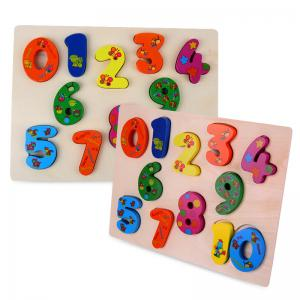 Number Woodiness Jigsaw Puzzle Toy -