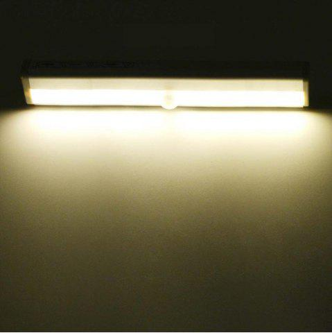Unique Wireless Motion Sensor Wardrobe Light 10LEDS Induction Nightlight Bar Home Decoration Lamp Battery Operated