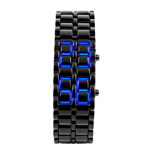 Shop LED Alloy Chain  Men Watch