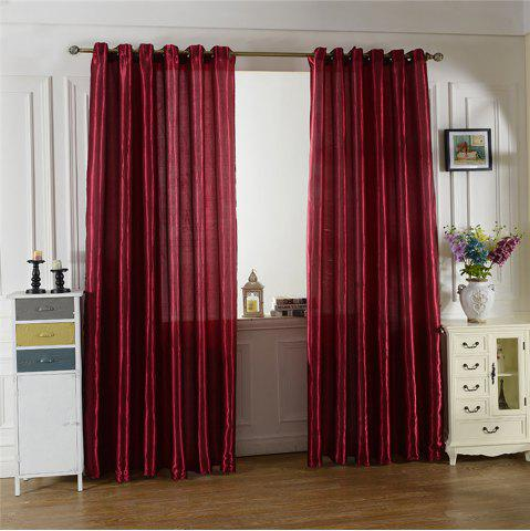 Chic Fashion Solid Color Home Decoration Curtains