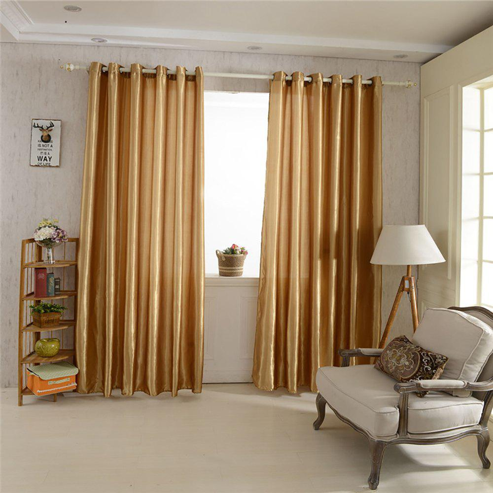 Affordable Fashion Solid Color Home Decoration Curtains