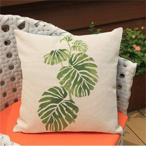 Shop Tropical Plants Fashion Leaves Rainforest Pillowcase