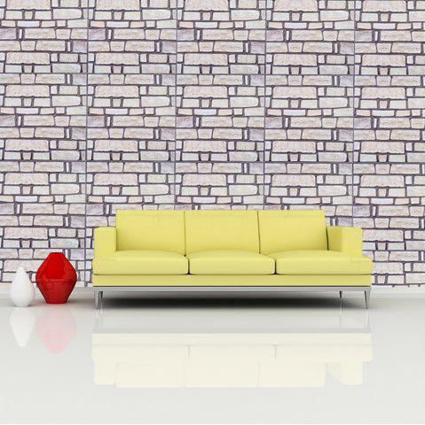 White 30x30cm Pvc Marble Wall Decorative Wall Stickers | RoseGal.com
