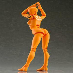 15CM Height Orange Vegetarian Doll Action Figure Figma Toy -