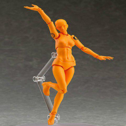 Store 15CM Height Orange Vegetarian Doll Action Figure Figma Toy