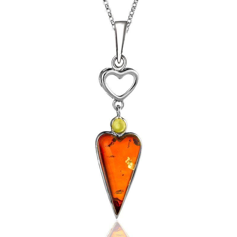Shops Amber Silver Pendant36103 Gift Jewelry