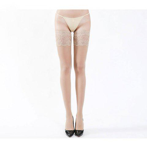 Outfit Croglam Lace Thigh Highs Sexy Fragrance Silk Stockings