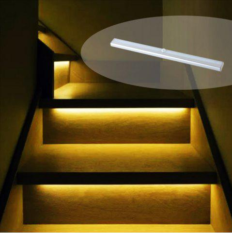 Outfit Portable Rechargeable Wireless Infrared Sensor LED Staircase Lights